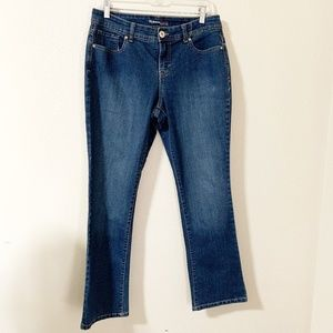 Style & Co. Curvy/Boot Jeans, Sz 10P (407)